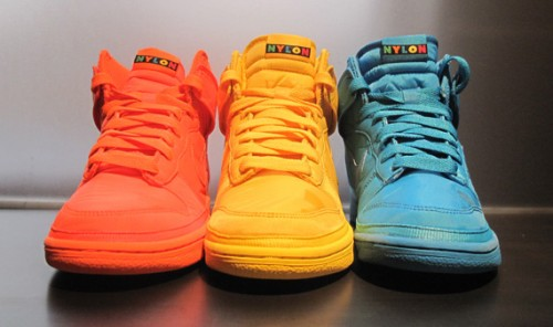 Nylon Magazine x Nike Dunk High @ Nikestore.com