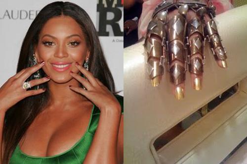 beyonce-minx-nails - n... Beyonce Knowles