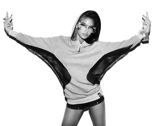 """Cassie for DimePiece """"Nine Lives"""" Fall 2009 Collection"""