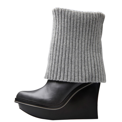 18475f3fe06 Alice + Olivia for Payless Park Sweater Wedge Boot - nitrolicious.com
