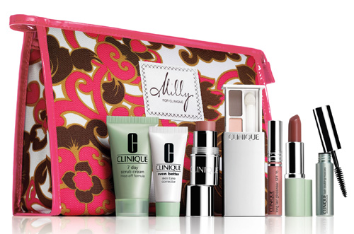 Milly for Clinique Gift With Purchase - nitrolicious.com