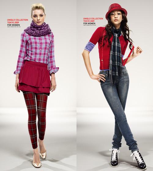 UNIQLO Fall/Winter 2009 Style Book