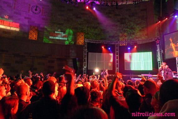Heineken Red Star Soul Tour in NYC | Estelle, Ludacris & NAS
