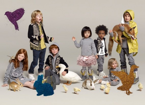 Stella Mccartney Gap Kids Baby Campaign