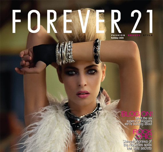 Forever 21 To Launch Fashion/Beauty/Lifestyle Magazine