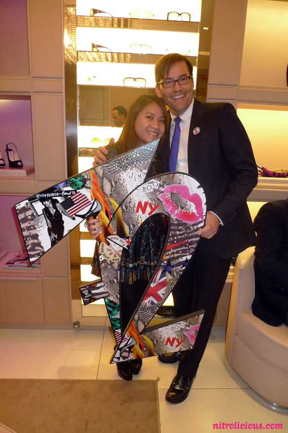 Jimmy Choo's Project PEP for Elton John Foundation Launch Party