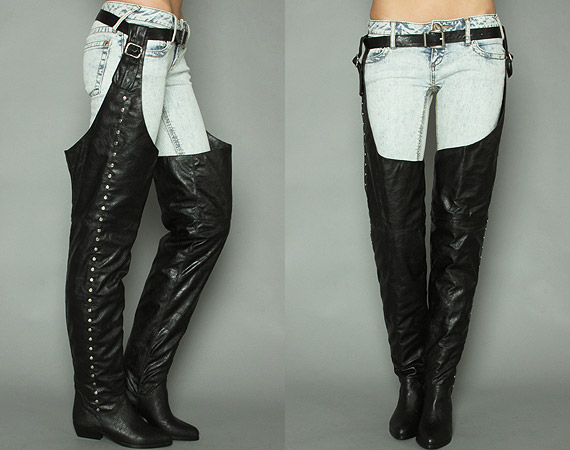 Men Thigh High Boots - Yu Boots