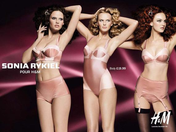 Sonia Rykiel for H&M Ad Campaign [More Pics]
