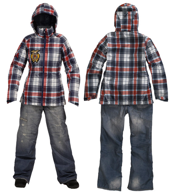 Burton Winter Olympic 2010 US Snowboard Team Uniform - nitrolicious.com