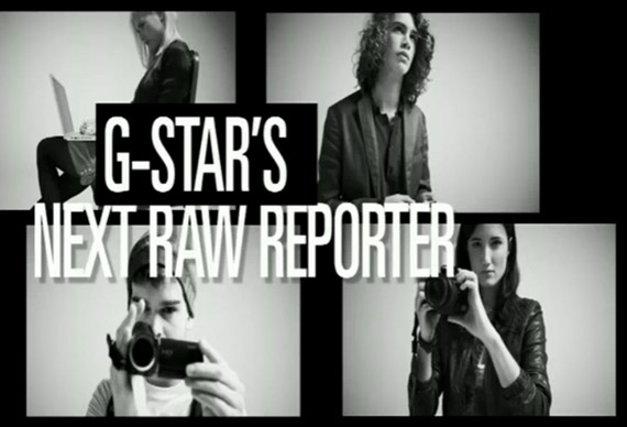 G-Star is Seeking Rookie Runway Reporters for NYFW