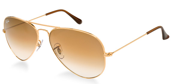 ray ban sonnenbrille aviator gold