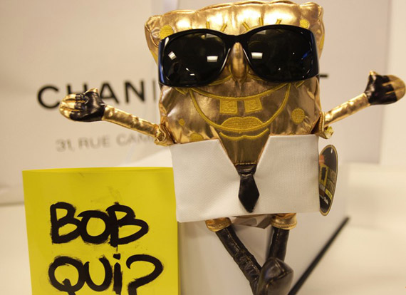 SpongeBob by Karl Lagerfeld for WWF