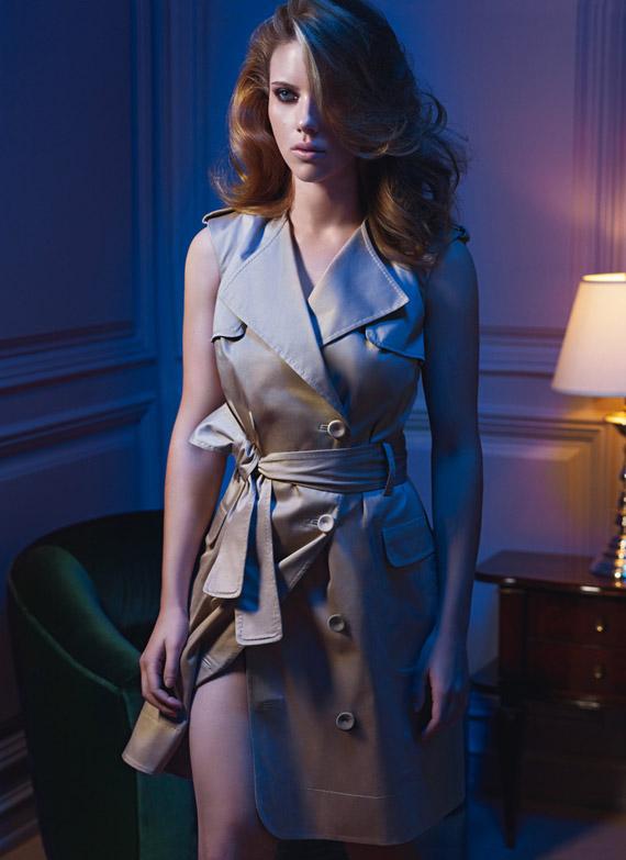 Scarlett Johansson for Mango Spring/Summer 2010 Ad Campaign
