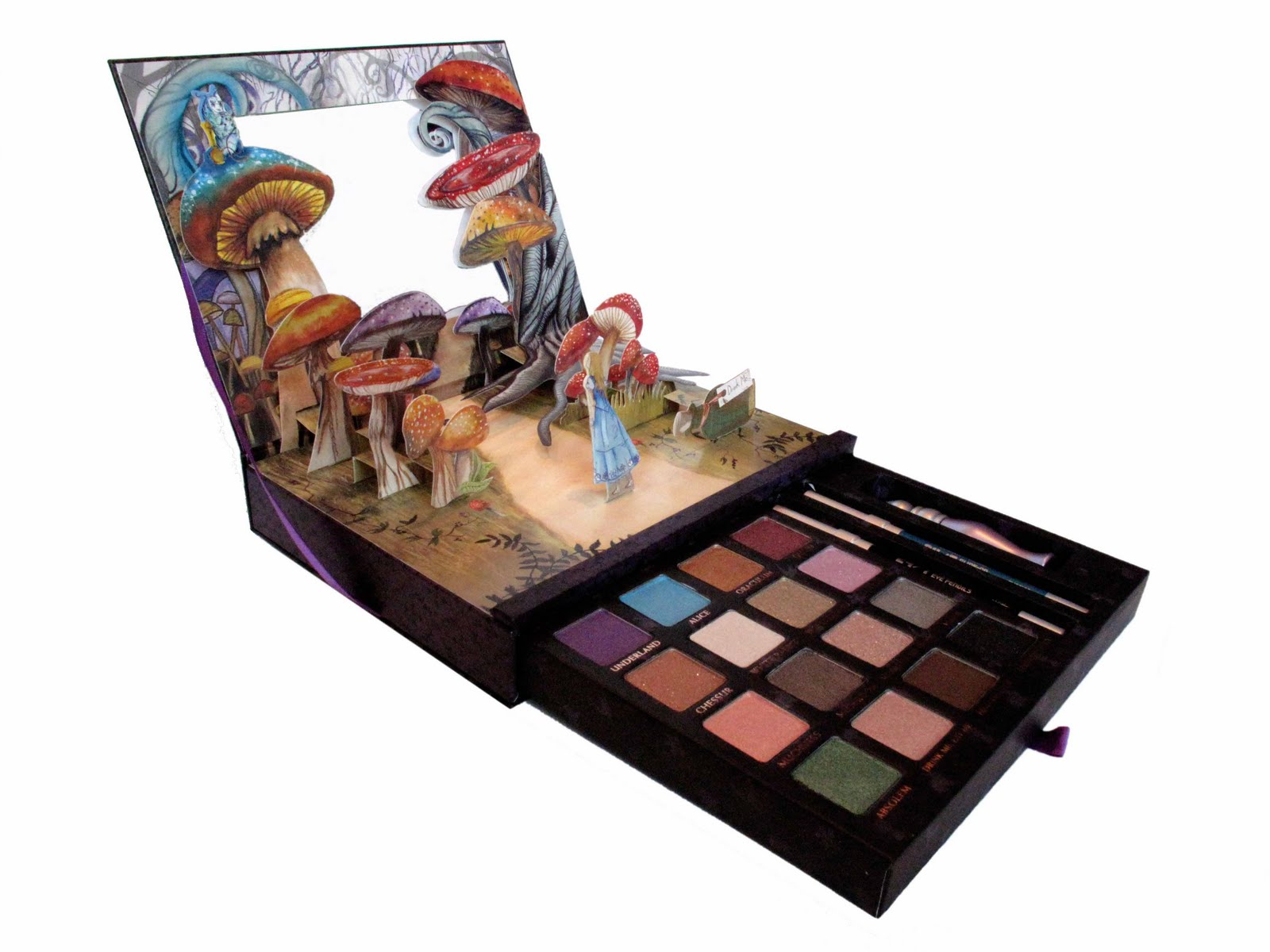Urban Decay Alice In Wonderland Book Of Shadows Sephora