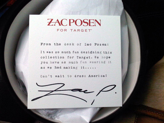 Zac Posen for Target Lookbook