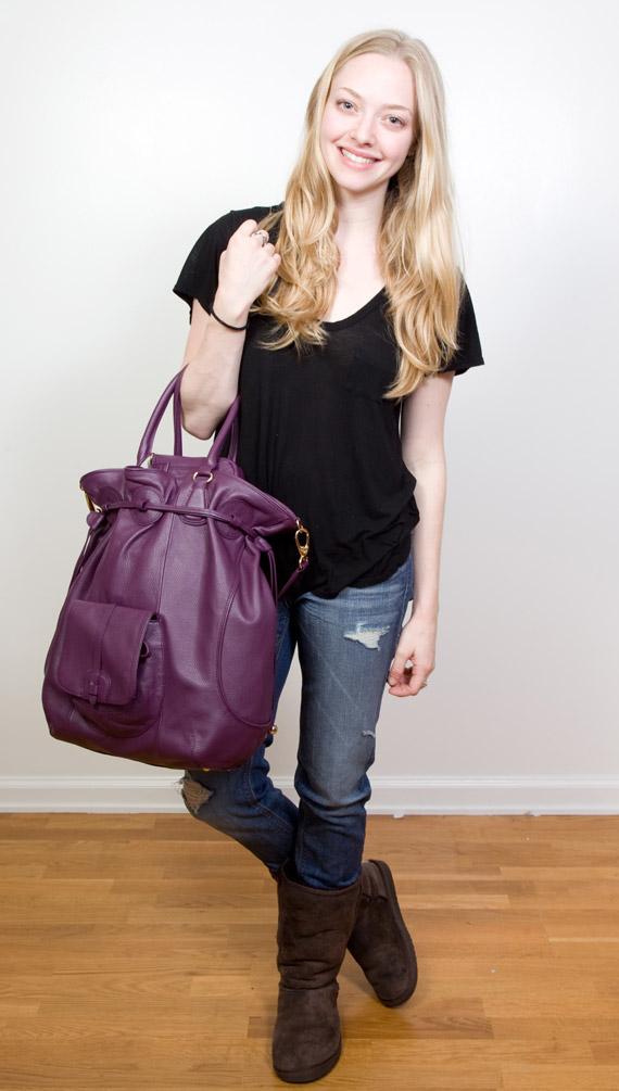 Amanda Seyfried wears