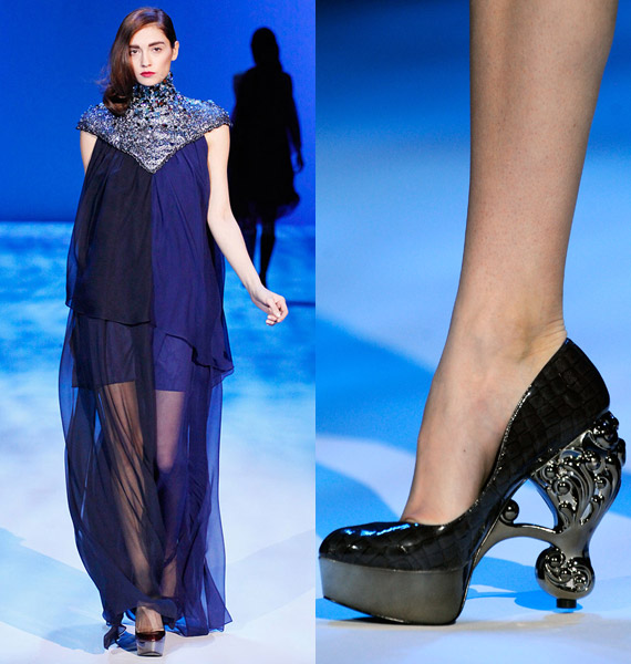 Christian Siriano Fall 2010 Fashion Show Payless Shoes