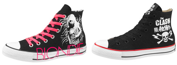 Converse All Star Chuck Taylor Punk Collection | Blondie