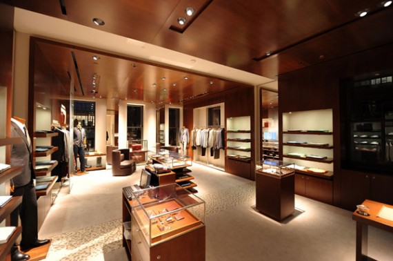 Herm s men s store madison ave ny opening interior for Hermkes interieur