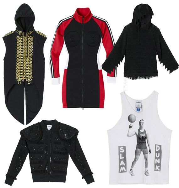 Jeremy Scott for adidas Originals Spring 2010   Apparel