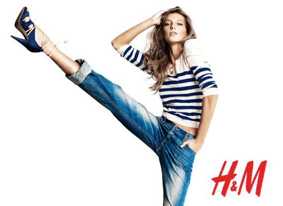 """H&M """"The Blues"""" Spring 2010 Campaign"""