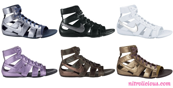 b07ae36f6 Nike Gladiator MD Sandals Spring 2010 Collection - nitrolicious.com