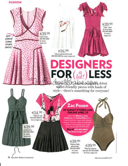 Zac Posen for Target | People StyleWatch Magazine