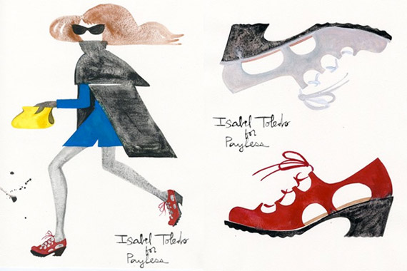 Isabel Toledo for Payless [Sketches]