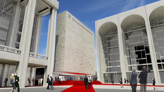 Mercedes-Benz Fashion Week at Lincoln Center Plans Unveiled