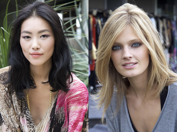 Liu Wen and Constance Jablonski are New Faces of Estée Lauder
