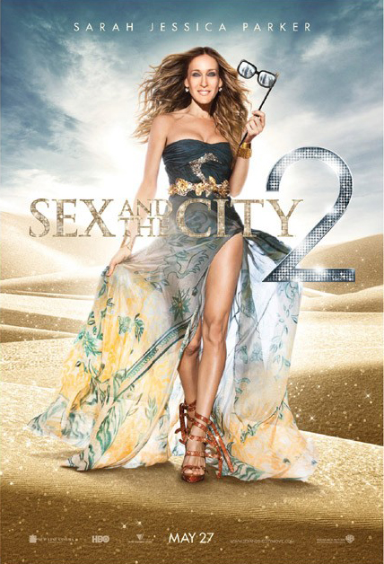 Sex and the City 2 Movie Poster – SJP Wears Emilio Pucci