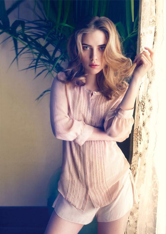 Scarlett Johansson for Mango Summer 2010 Ad Campaign ...