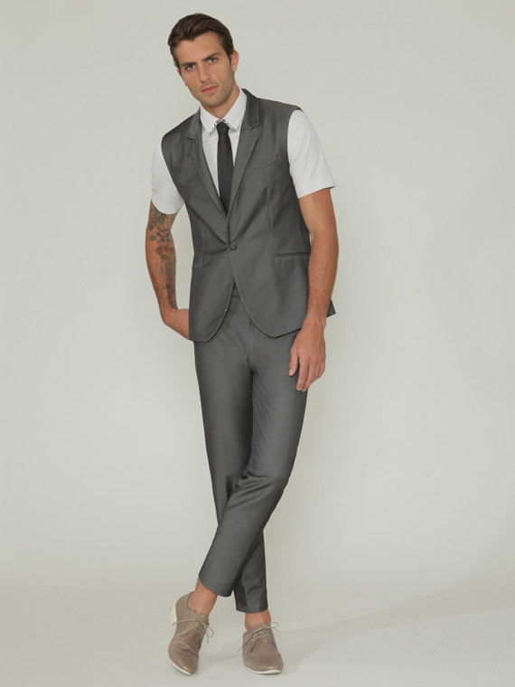 Sleeveless Suit Jackets For Men Mens Suit Jacket Overview