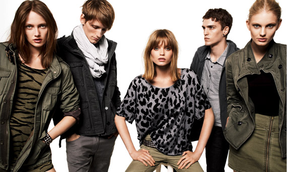 H&M Divided Fall 2010 Ad Campaign ft. Abbey Lee Kershaw ...