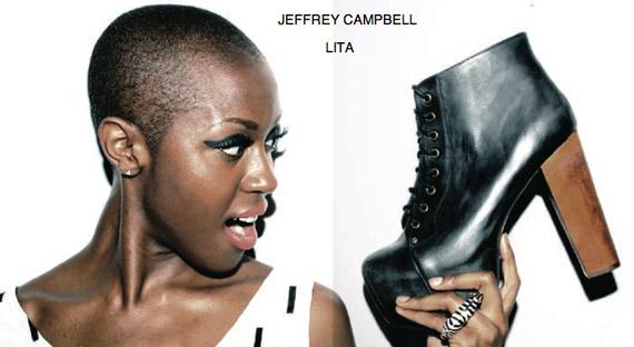 Jeffrey Campbell LITA Lace-Up Bootie @SoleStruckShoes
