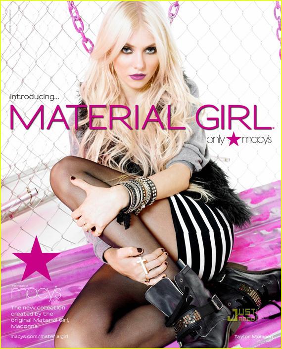 Taylor Momsen for Madonna's Material Girl Macy's Line ... Taylor Momsen Instagram
