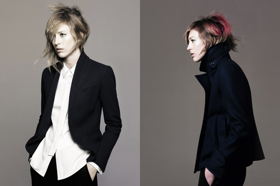 +J by Jil Sander for UNIQLO Fall 2010 Ad Campaign ft Raquel Zimmermann