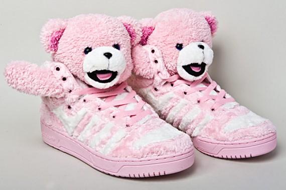 Jeremy Scott for adidas Originals Teddy Bears Sneaker