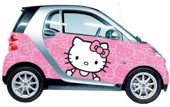 sanrio smart usa launches first hello kitty vehicle wraps nitroliciouscom