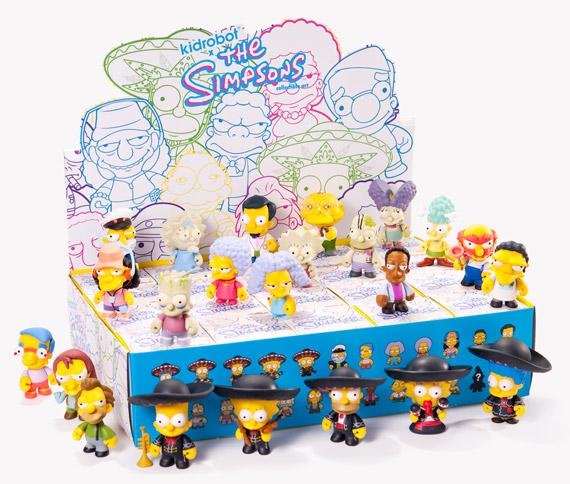Kidrobot x The Simpsons Mini-Figure Series 2