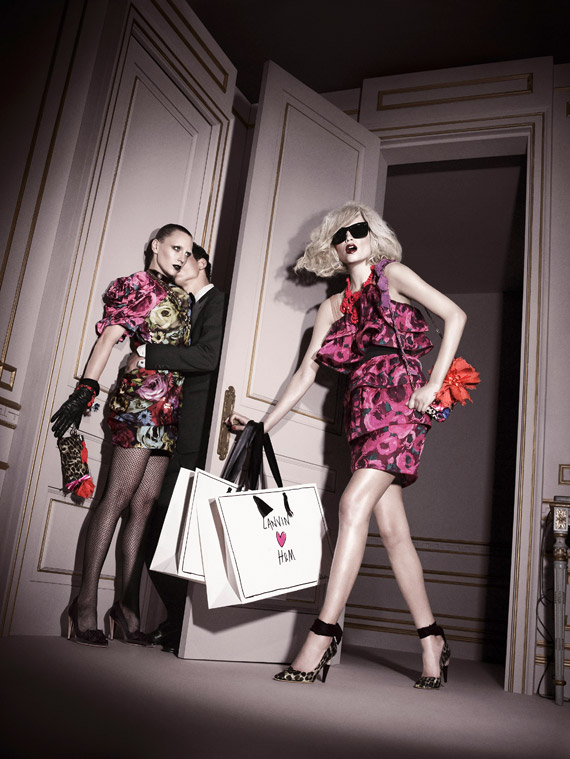 Lanvin for H&M Ad Campaign [Second Look]