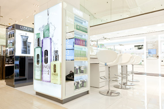Clinique's New Counter at Lord & Taylor Fifth Avenue