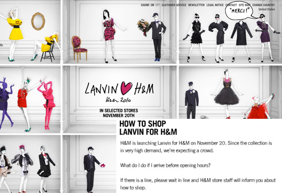 How To Shop Lanvin for H&M + US Store Listings on November 20th