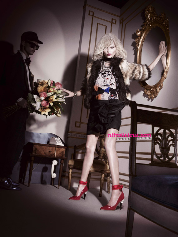 Lanvin for H&M Ad Campaign [Full Look]