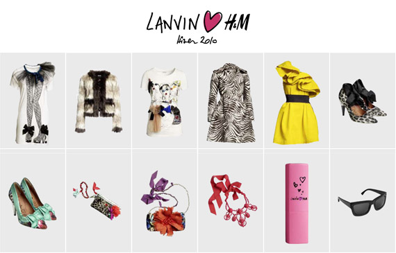 Lanvin for h m women 39 s collection - H m ancienne collection ...