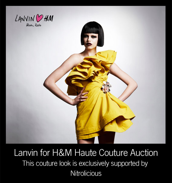 LANVIN ? H&M Haute Couture Auction for UNICEF