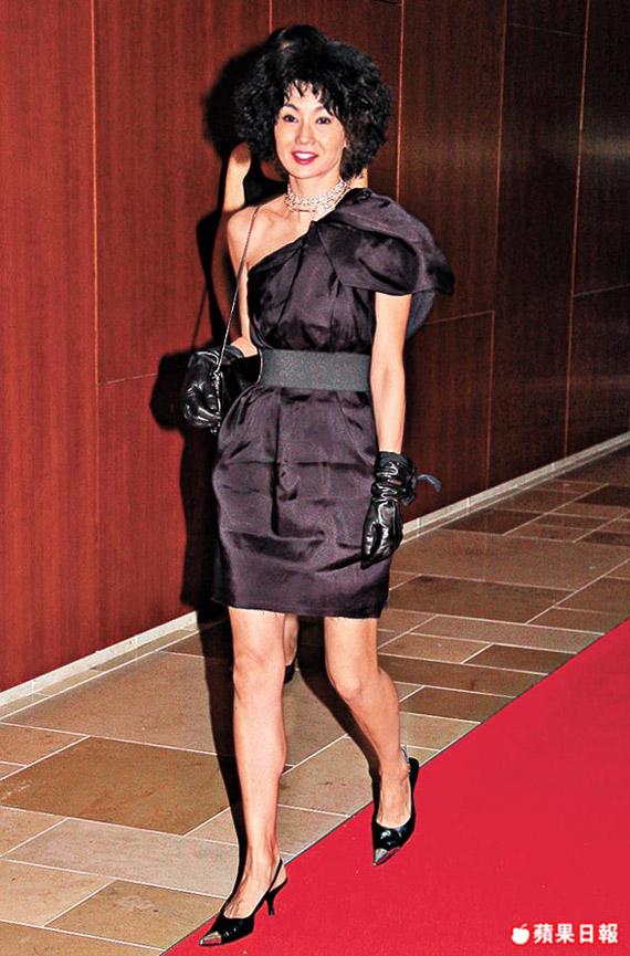 Maggie Cheung Rockin' Lanvin for H&M!