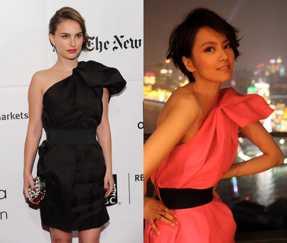 Natalie Portman, Carina Lau, Gigi Leung… Rockin' Lanvin for H&M!
