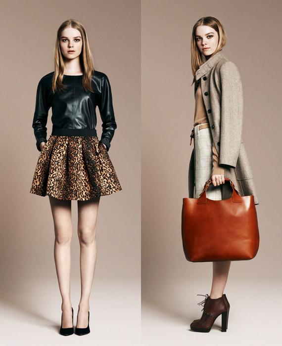Zara Woman November 2010 Lookbook
