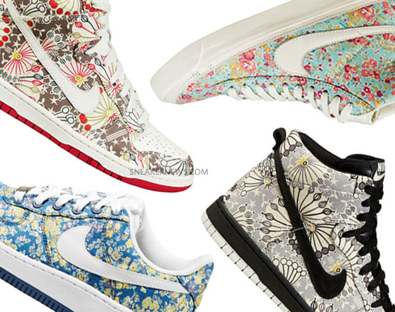 Nike Sportswear Liberty of London Pack – 2011 Preview